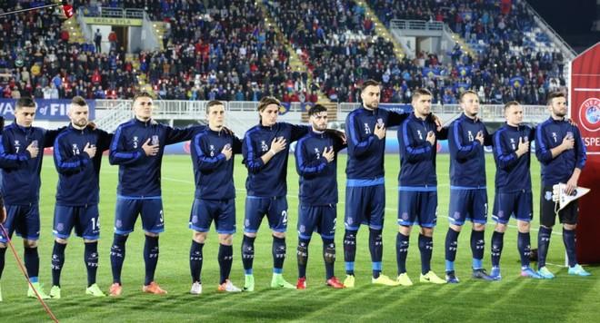 Kroacia vs. Kosova, publikohen formacionet