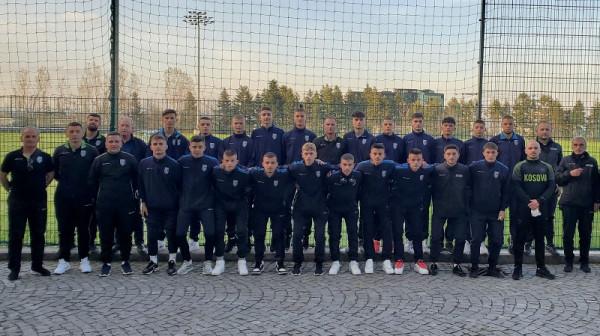 Kosova U17 arrin në Sofje për ndeshjet e radhës