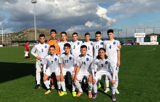 Kosova U17 pëson thellë nga Turqia U17