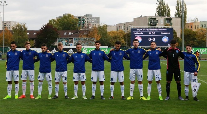 Kosova U17 e nis me humbje nga Holanda U17