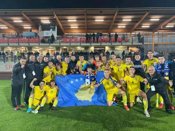 Kosova U17 fiton, kalon në Elite Round