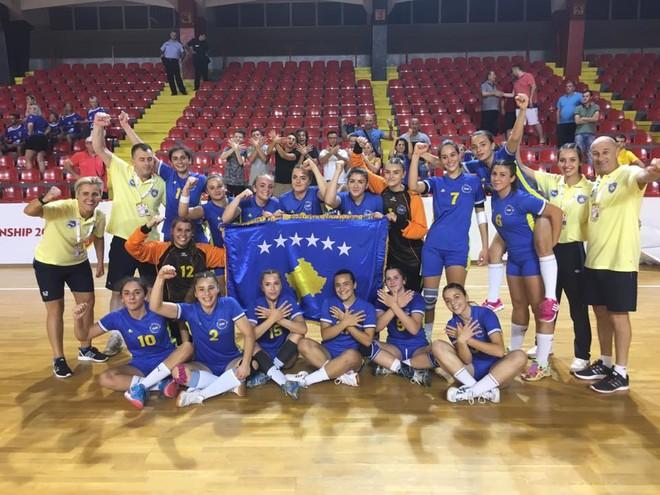 Fitore e madhe e vajzave të Kosovës