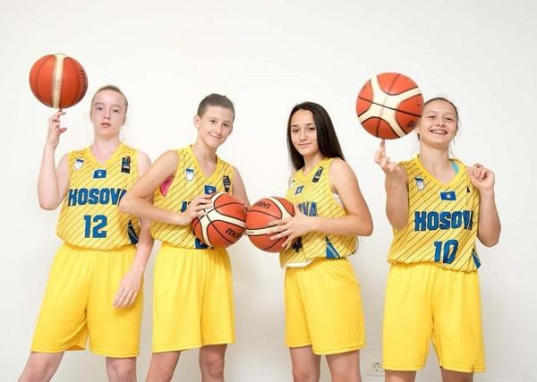 Vajzat e Kosovës U18 me Slloveninë në grup