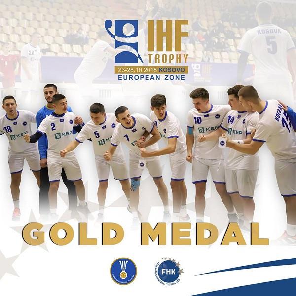 Kosova U18 e artë në IHF Trophy