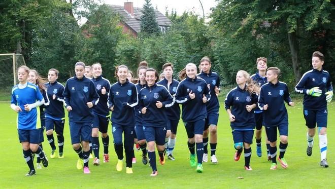 Vajzat U19 një ditë para ndeshjes ndaj gjermaneve