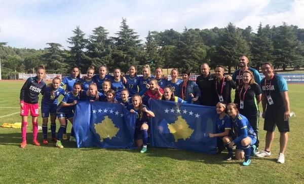 Vajzat e Kosovës mposhtin Lituaninë në start të kualifikimeve