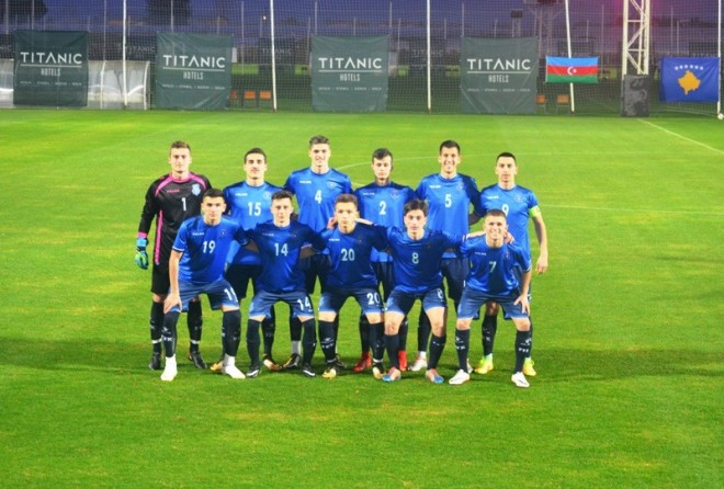 Austria U19 vs. Kosova U19, mbyllet pjesa e parë