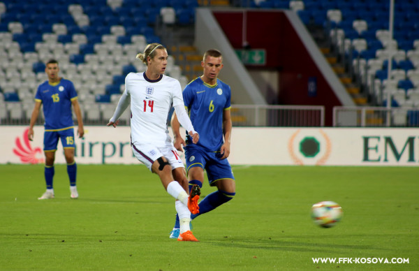 Anglia U21 - Kosova U21, 11-shet startuese