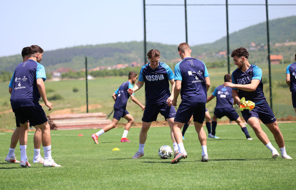 Kosova U21, orari i stërvitjes së ardhshme