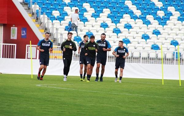 Stërvitjet e Kosovës, në terr