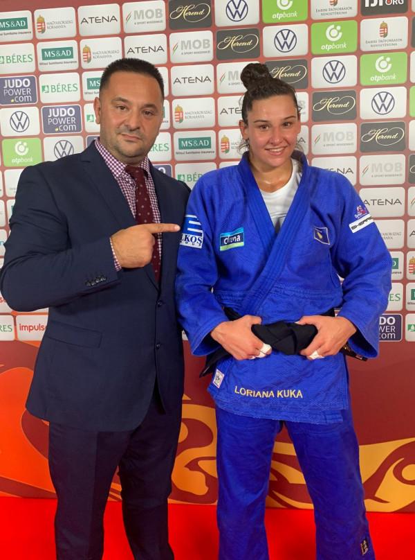Loriana Kuka me medalje nga Budapeshti