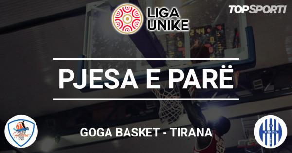 Dallim 21 pikësh në pjesën e parë të ndeshjes Goga Basket - Tirana