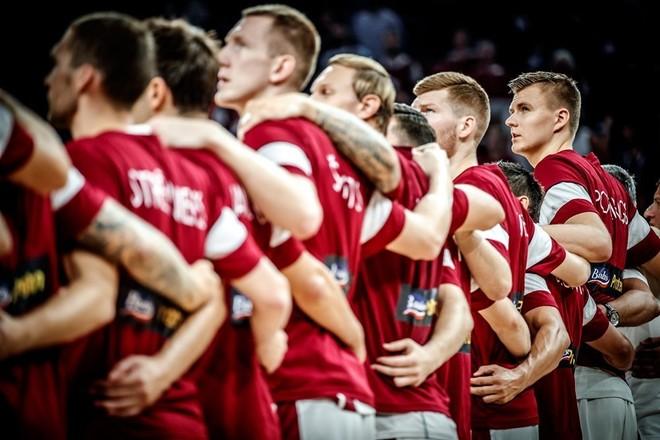 Letonia arrin çerekfinalen