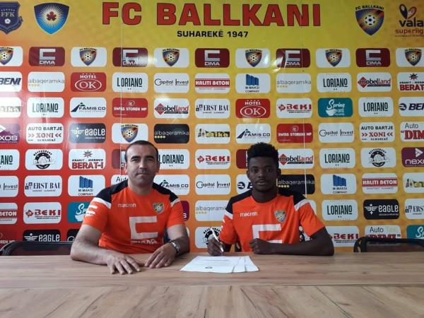 Kamerunasi Lazare në test te Ballkani