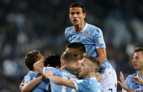 Lazio i Valon Berishës e Thomas Strakoshës fiton Superkupën e Italisë