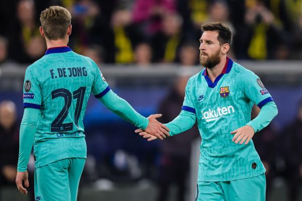 De Jong dhe Messi në prag të pezullimit