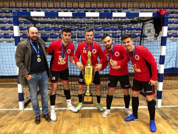 Liburni mposht Prishtinën 01 fiton turneun Adem Jashari