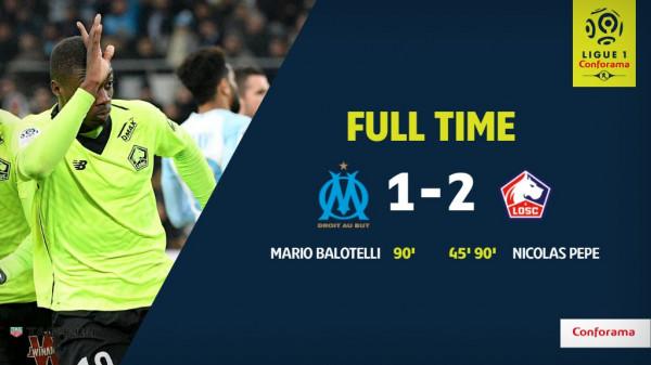 Super Mario debuton me gol, Marseille mposhtet