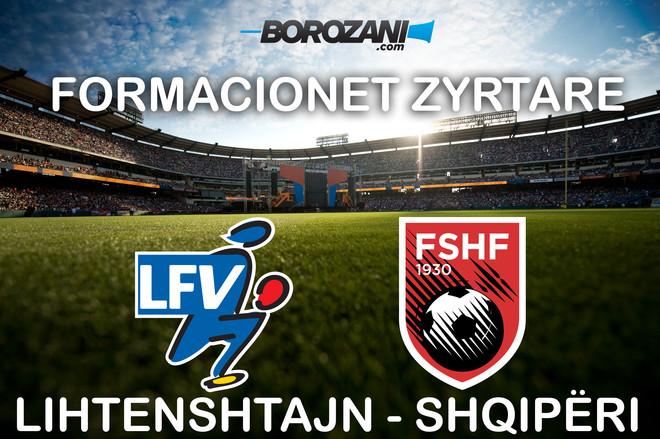 Formacionet zyrtare: Lihtenshtajn-Shqipëri