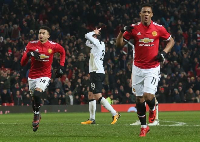 Lingard e Lukaku, United vazhdon tutje