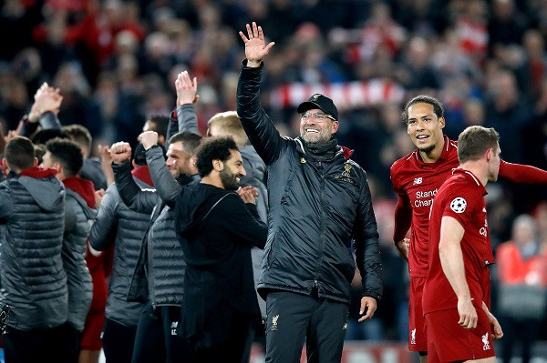 Liverpool ngritet në listën e finalistëve