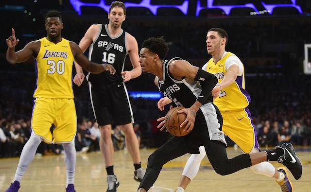 Lakers befason San Antonion