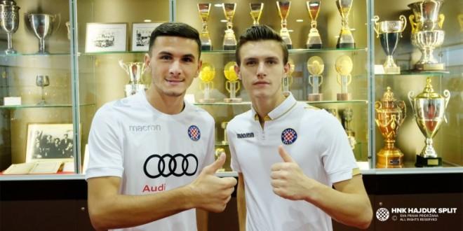 Dellova dhe Tolaj, transferohen te Hajduku