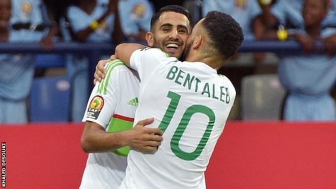 Mahrez shpëton Algjerinë nga humbja