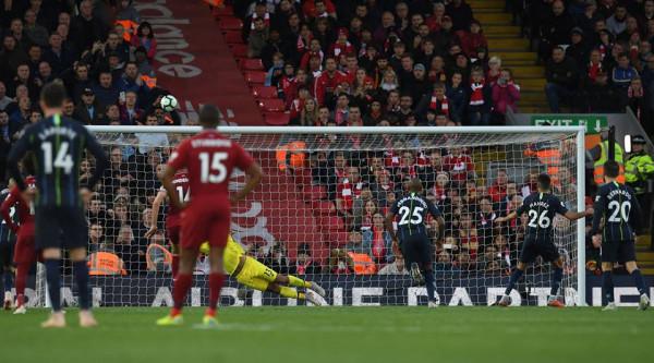 Penalltia e Mahrezit, lë Liverpoolin pa humbje