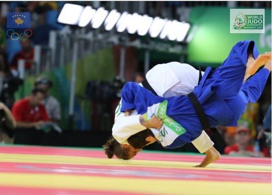 Majlinda Kelmendi në gjysmëfinale të Botërorit!