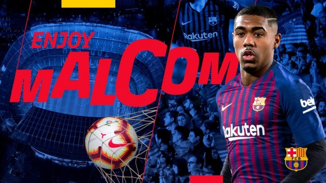 Malcom, zyrtarisht i Barcelonës
