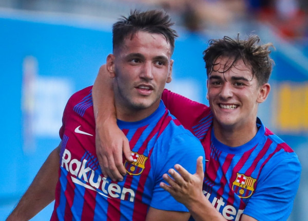 Manaj me supergol dhe hattrick për Barcelonën