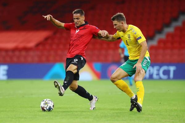 Notat e futbollistëve: Shqipëria - Lituania