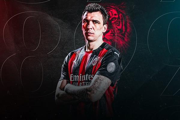 "Mario Mandzukic ""me letra"" i Milanit"