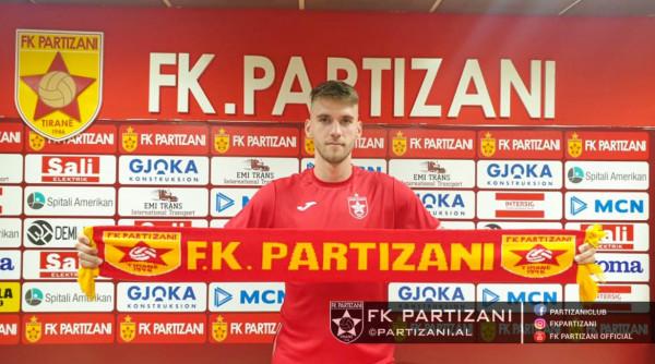 Marko van Basten Çema transferohet te Partizani