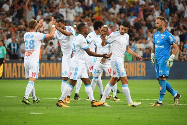 N'Jie-Germain shkëlqejnë, Marseille fiton