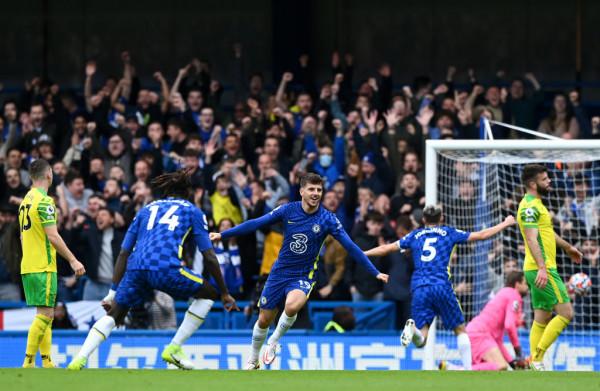 Rashica 45 minuta, Mount hat-trick, Chelsea deklason Norwichin