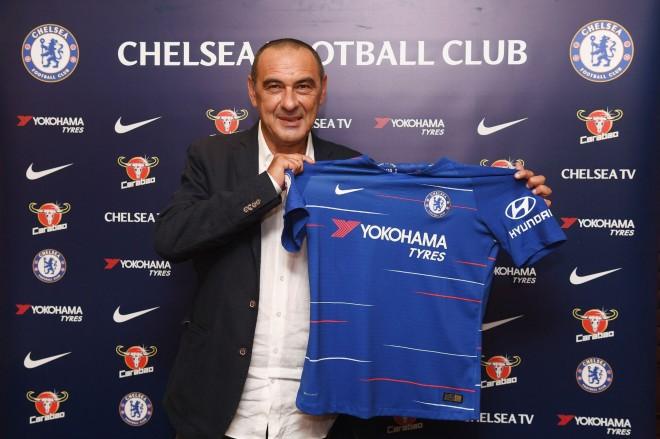 Chelsea zyrtarizon Sarrin