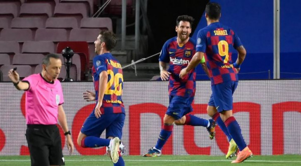Barcelona siguron çerekfinalen ndaj Bayernit