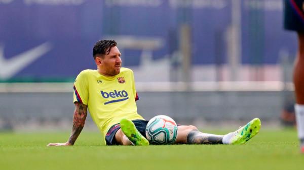 Messi mungon në stërvitjen e Barcelonës