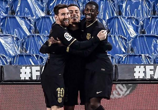 Messi shkëlqen, Dest me golat e parë, Barça në 4 pikë