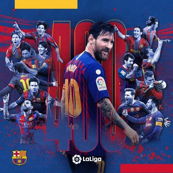 Historia e La Ligas, Messi