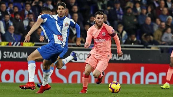 Messi superior, e katërta me radhë për Barçën