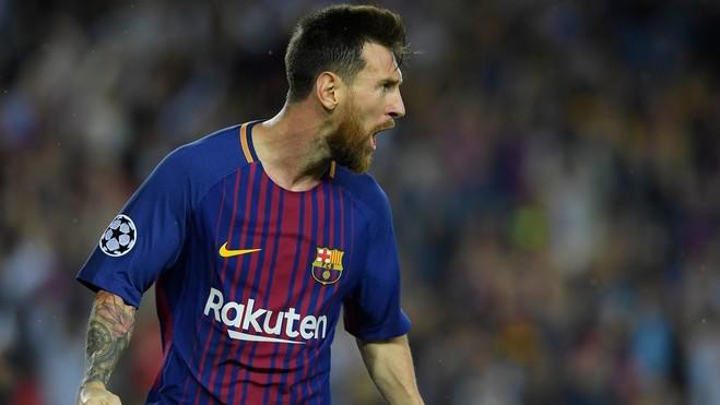 Messi i shënon Buffonit, Barcelona fiton
