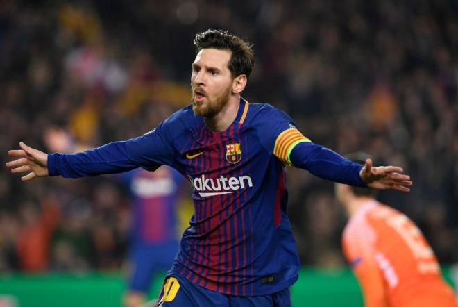Super Messi, Barcelona në çerekfinale