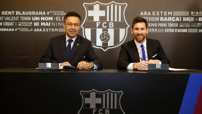 Messi - Barcelona, 'lidhja' vazhdon, klauzola ngritet