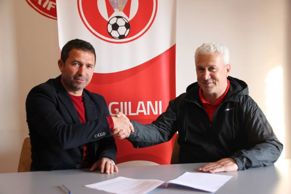 Gjilani emëron trajner nga Shqipëria