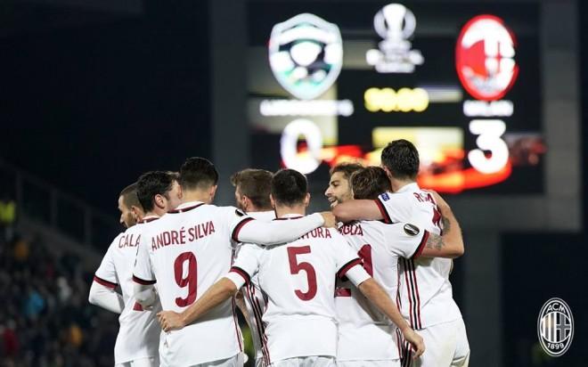 Milan mbron nderin italian