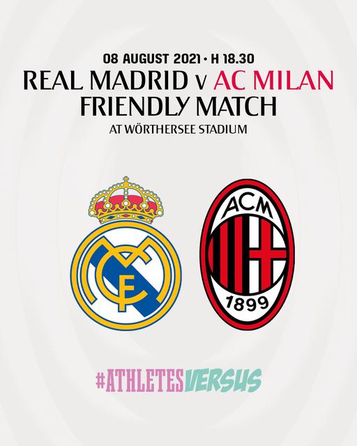 Real Madrid e Milan caktojnë miqësoren parasezonale