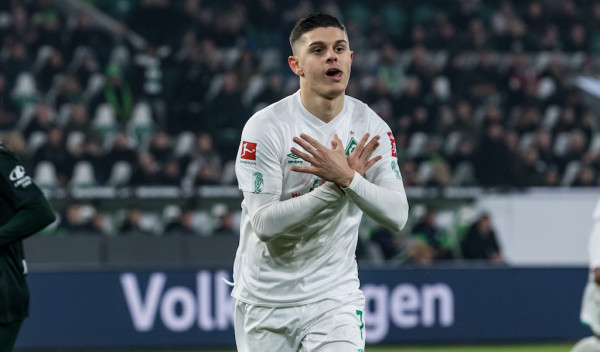 Rashica shënon golin e parë, Werder mposhtet